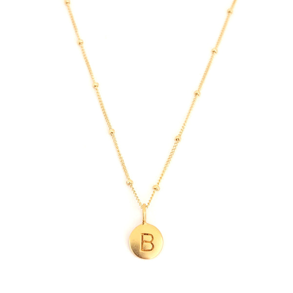 """B"" Mayfair Necklace"