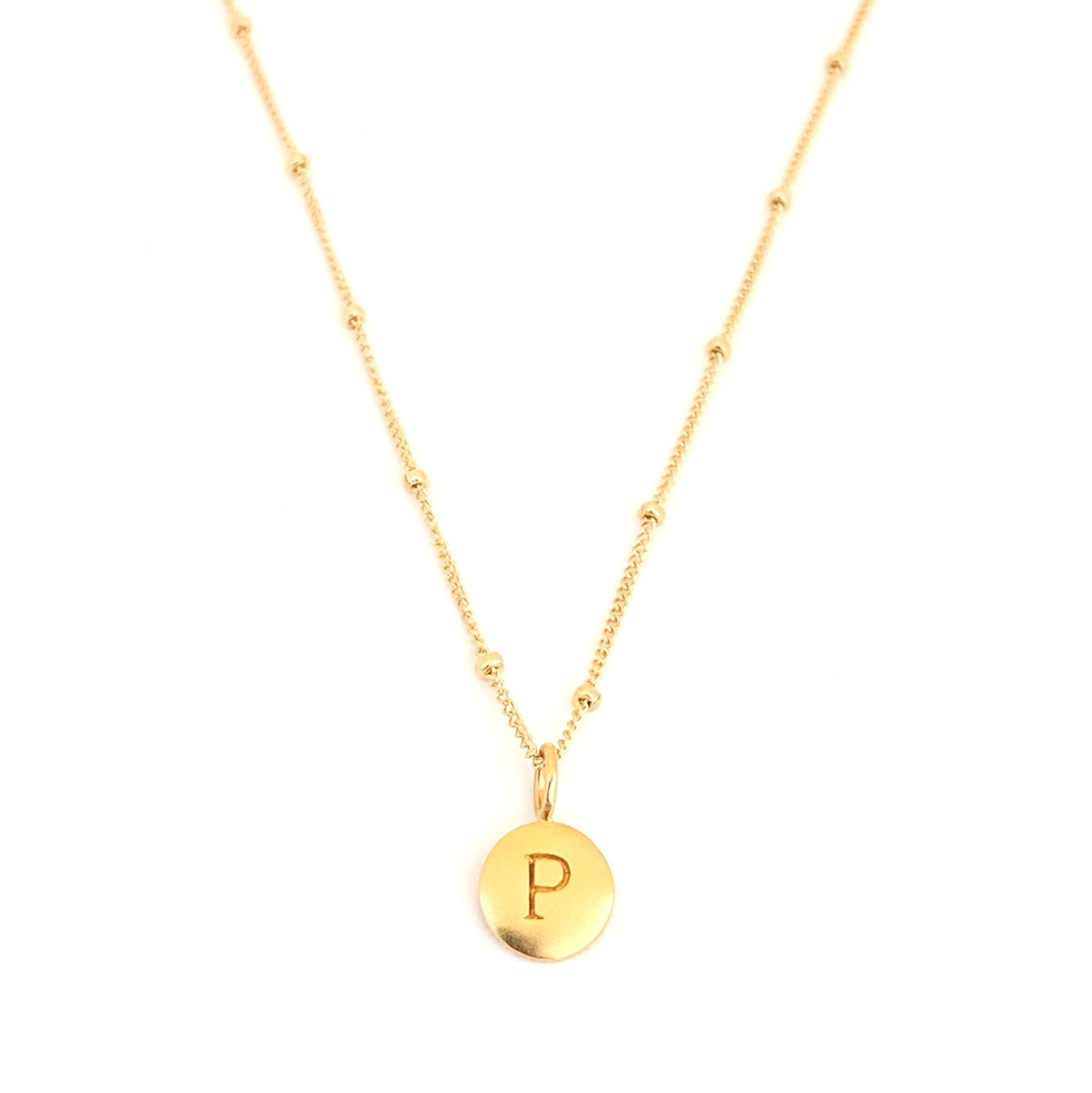 """P"" Mayfair Necklace"