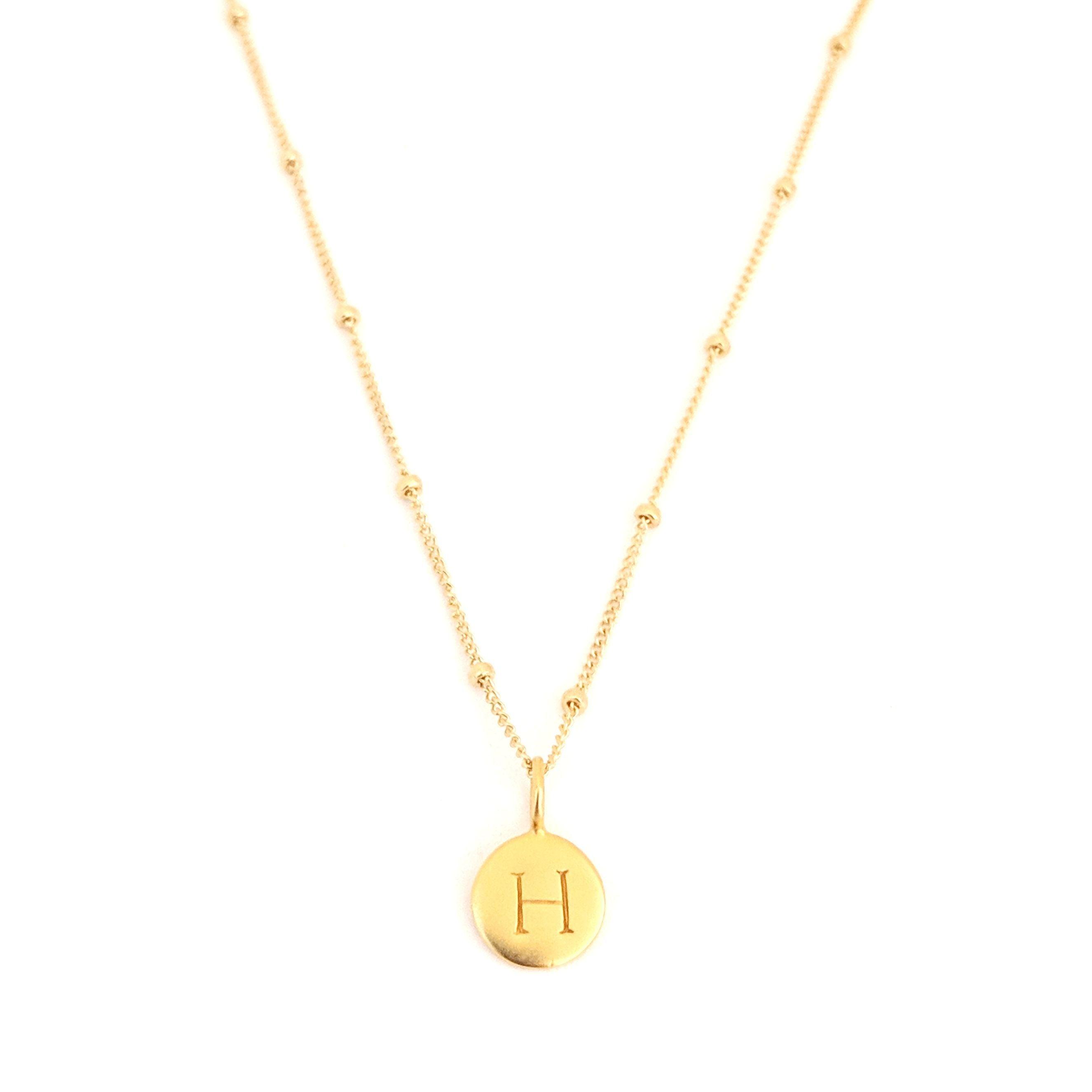 """H"" Mayfair Necklace"