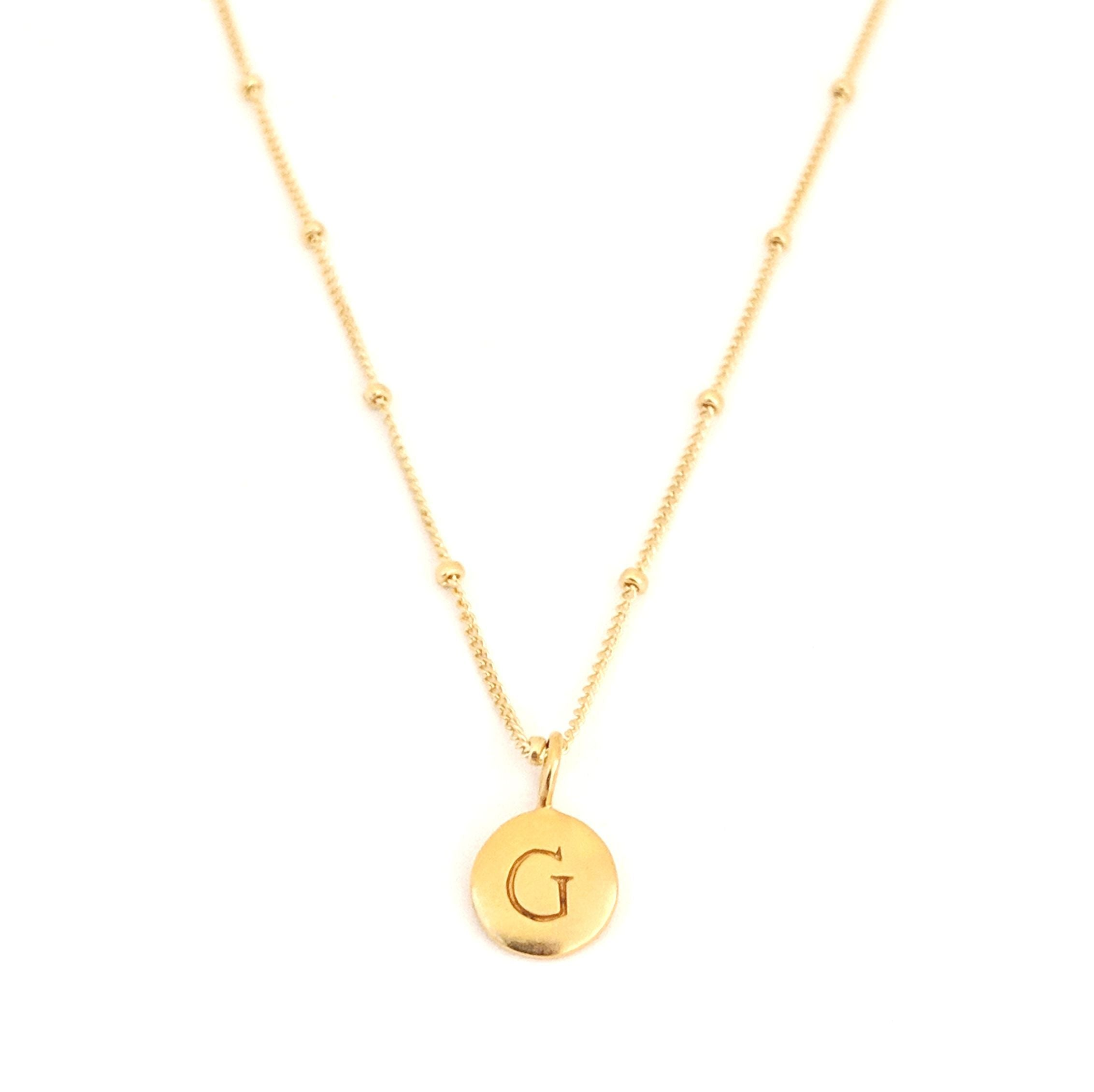 """G"" Mayfair Necklace"
