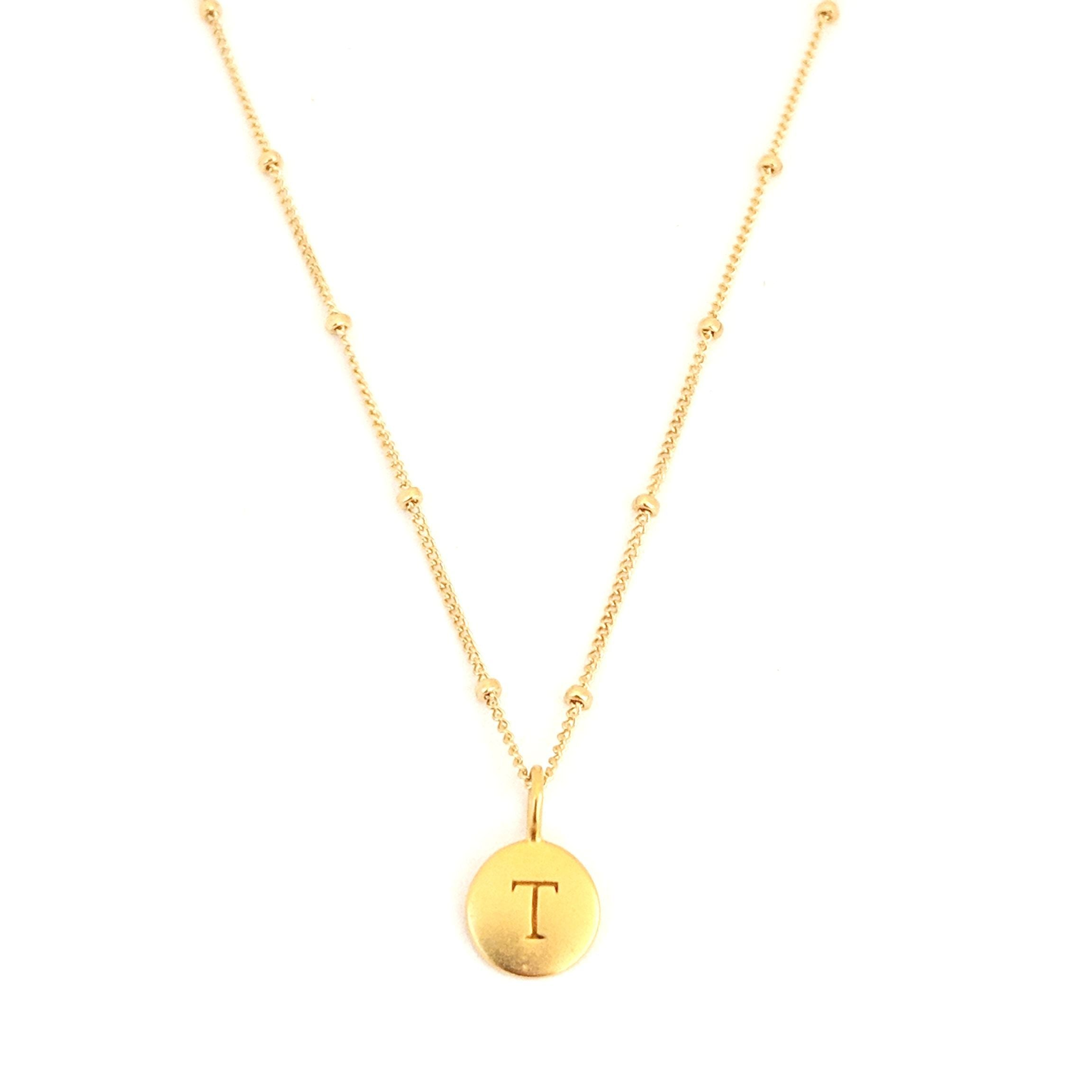 """T"" Mayfair Necklace"