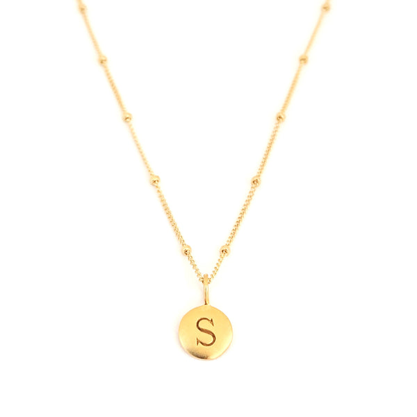 """S"" Mayfair Necklace"