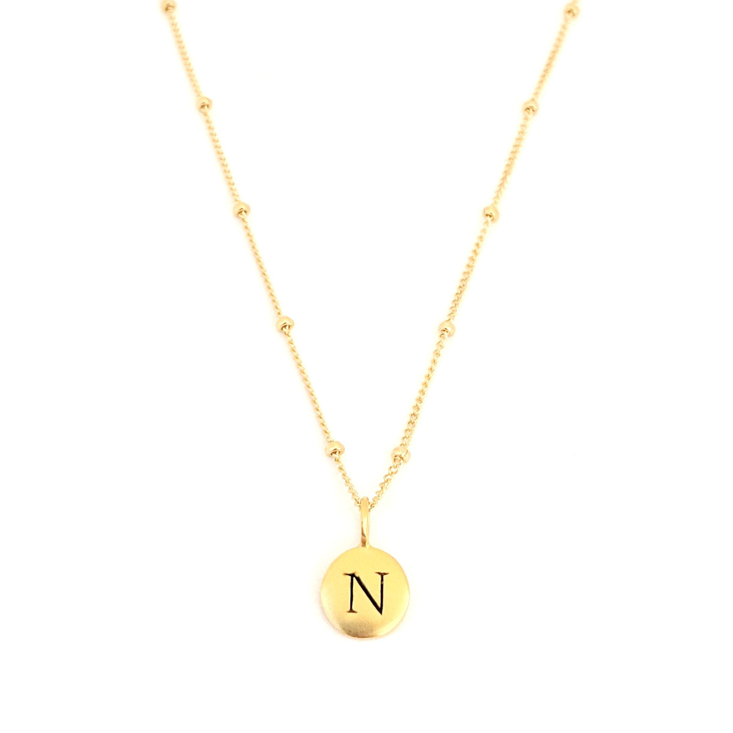 """N"" Mayfair Necklace"