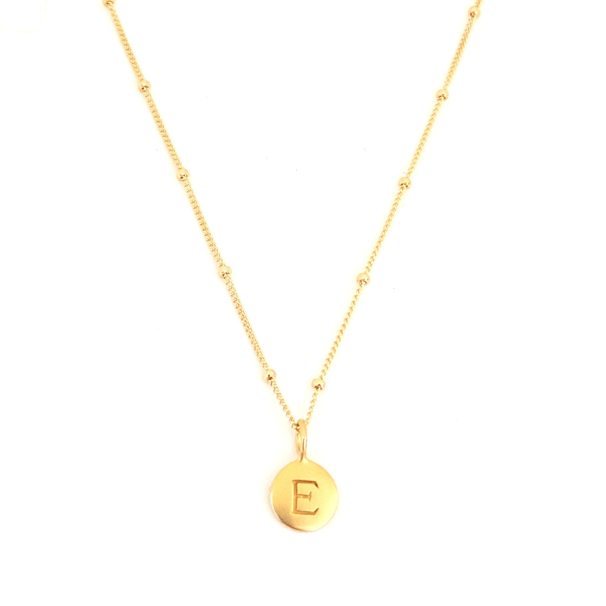"""E"" Mayfair Necklace"