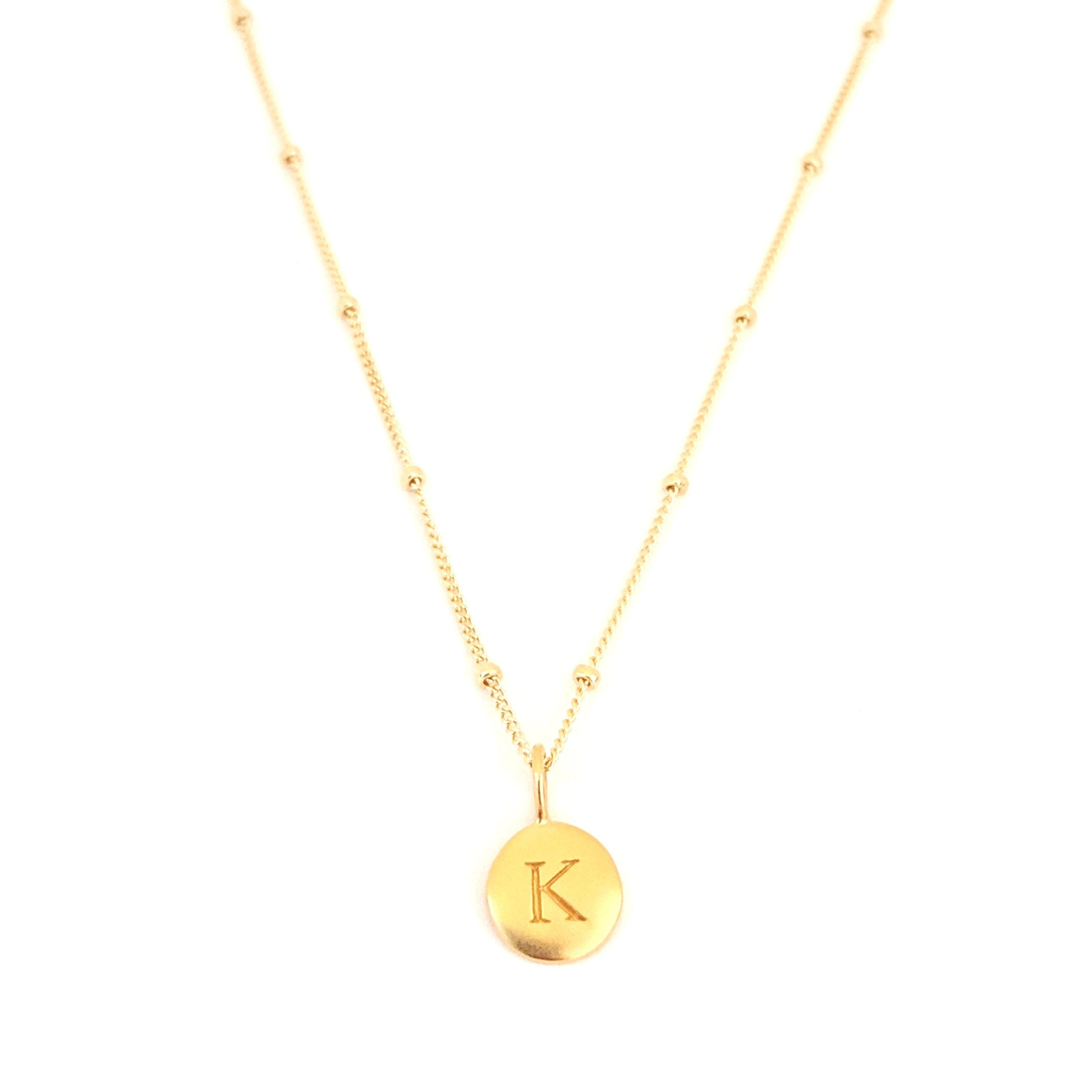"""K"" Mayfair Necklace"
