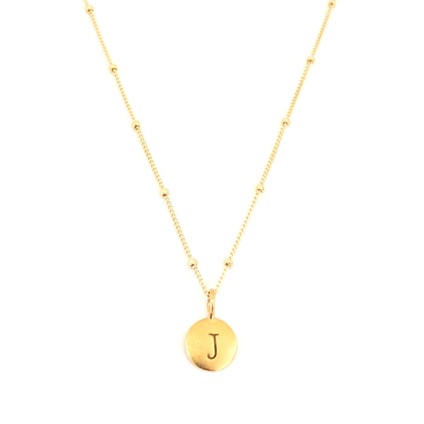 """J"" Mayfair Necklace"