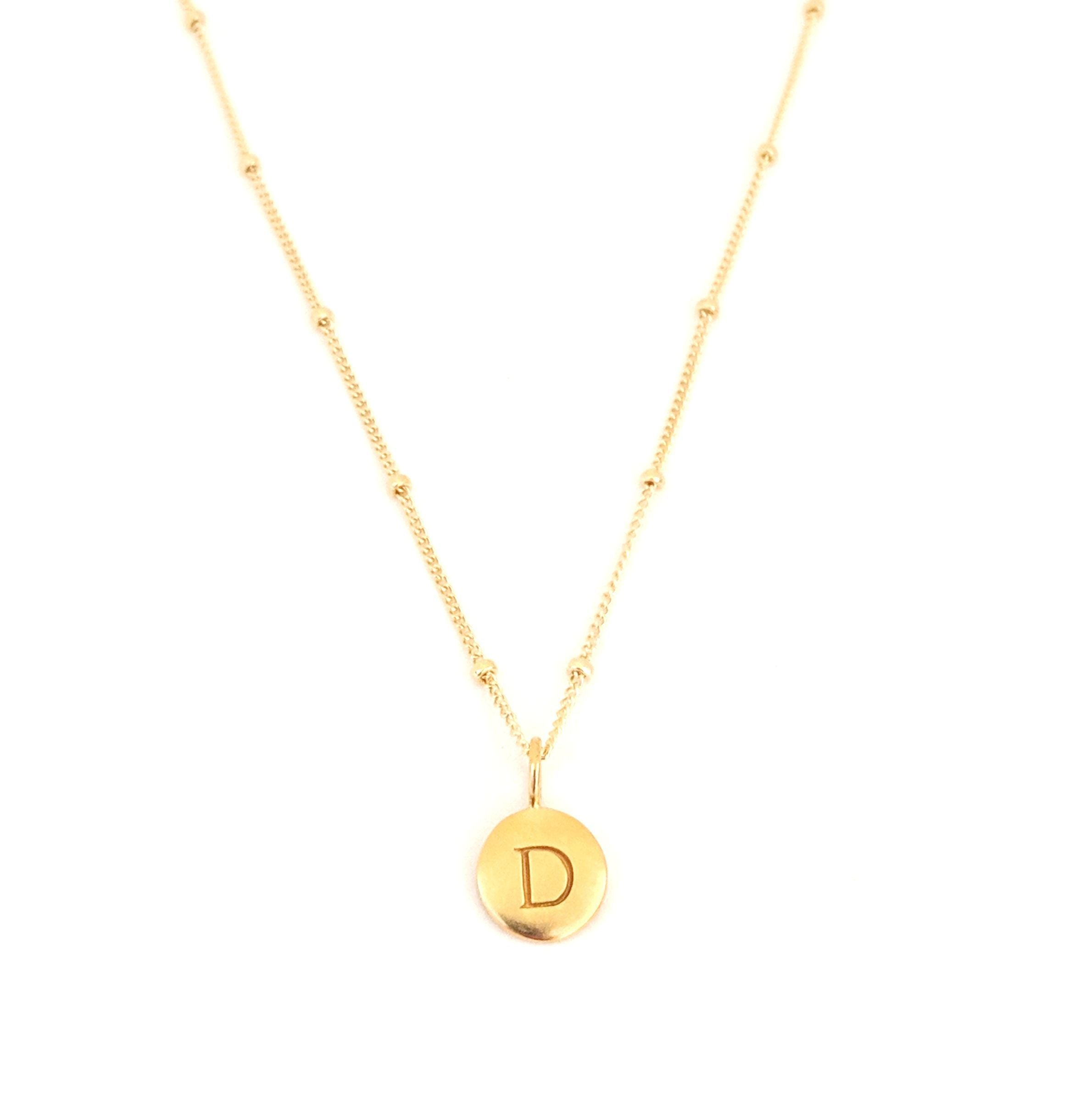 """D"" Mayfair Necklace"