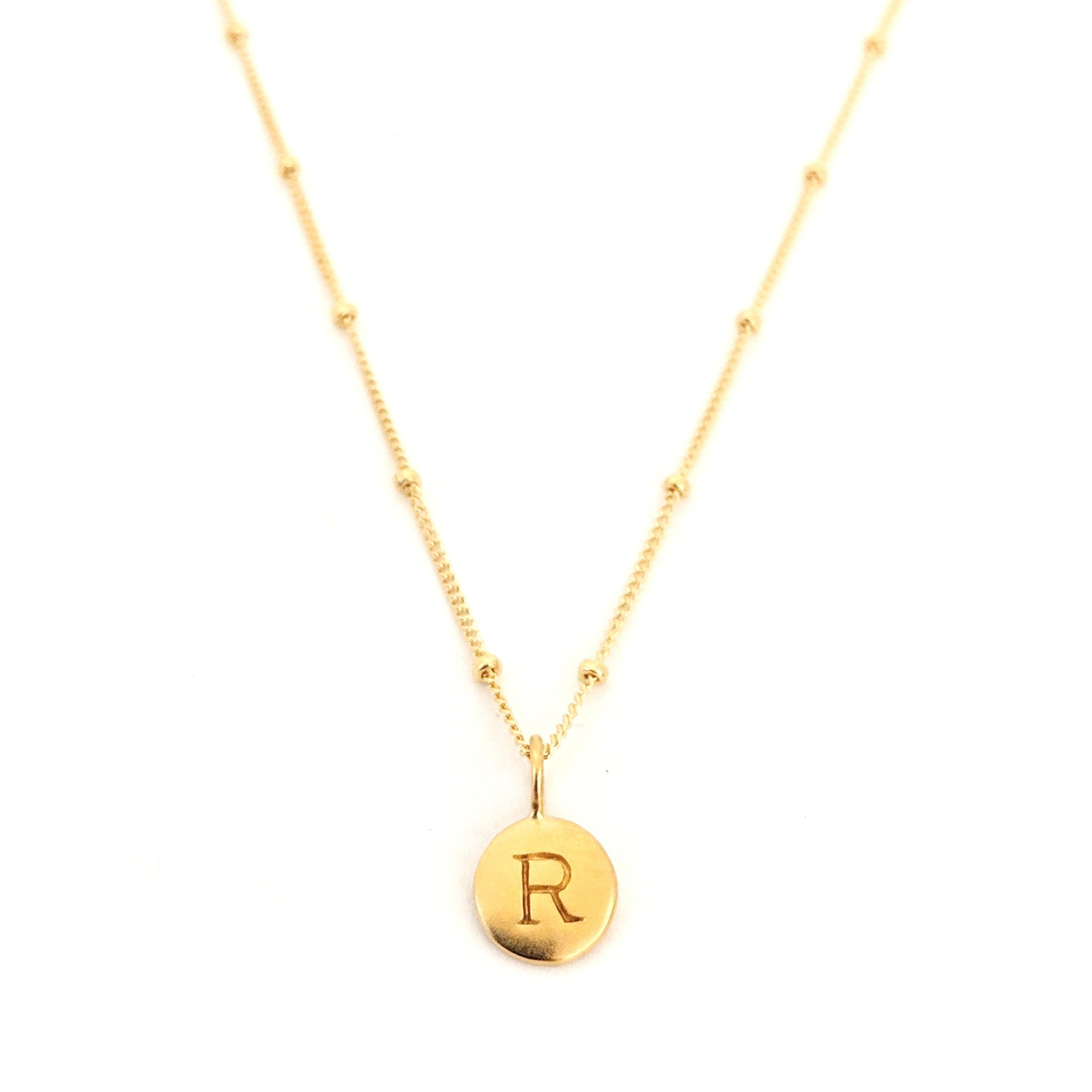 """R"" Mayfair Necklace"