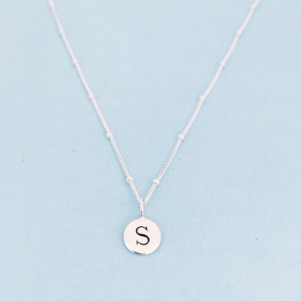 "Silver ""S"" Mayfair Necklace"
