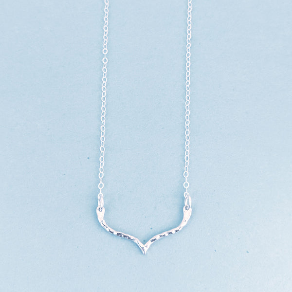 Tiny Curved Point Pantheon Necklace