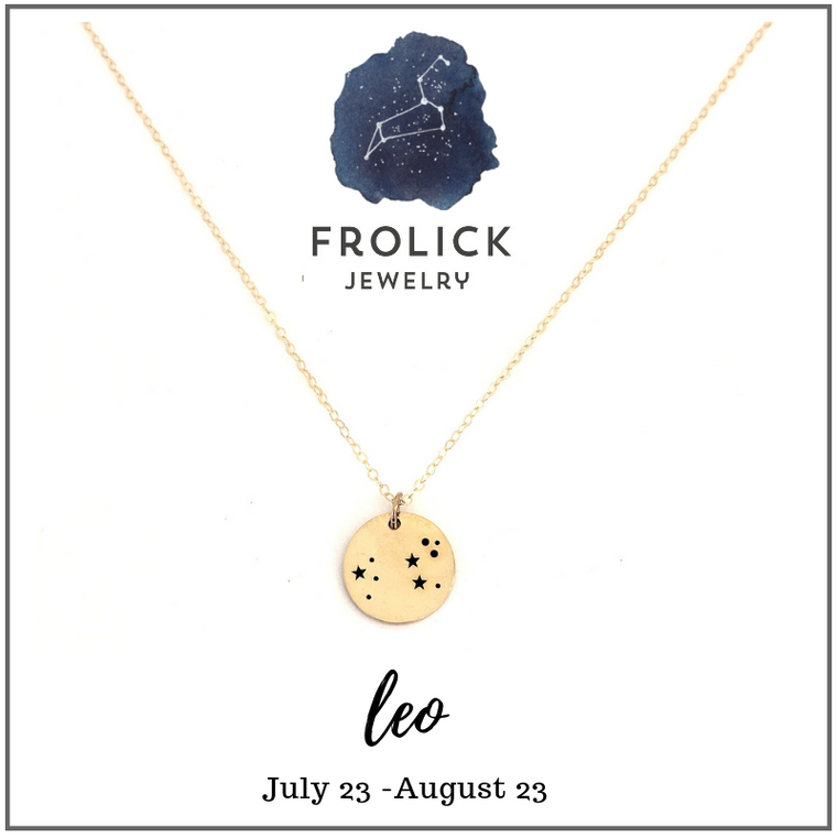 Leo Constellation Necklaces