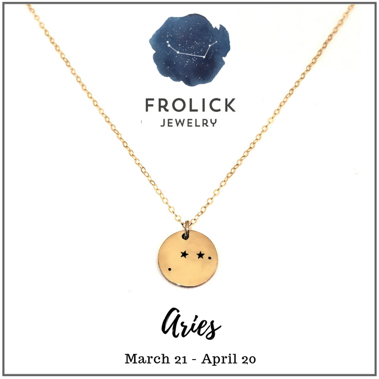 Aries Constellation Necklaces