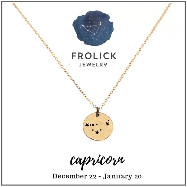 Capricorn Constellation Necklaces