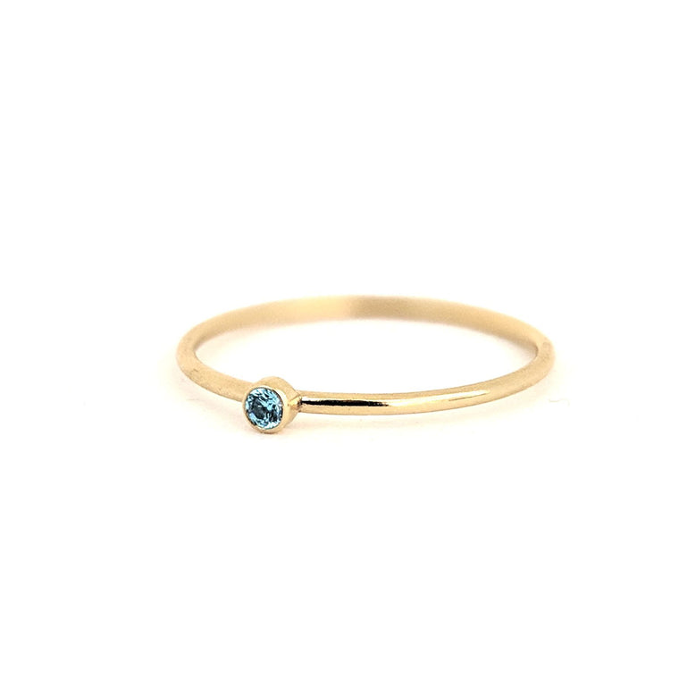 December Birthstone Gem Ring