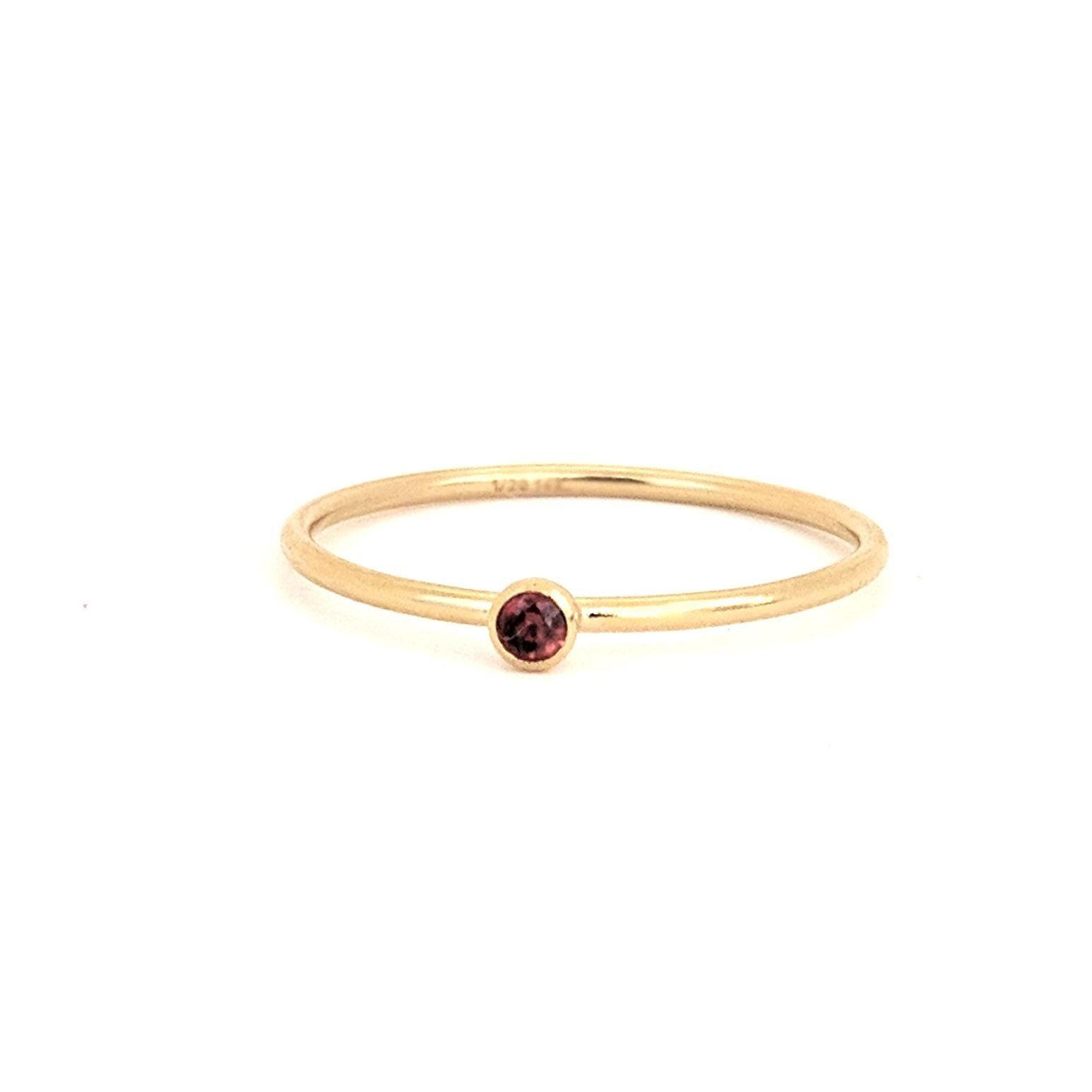 July Birthstone Gem Ring