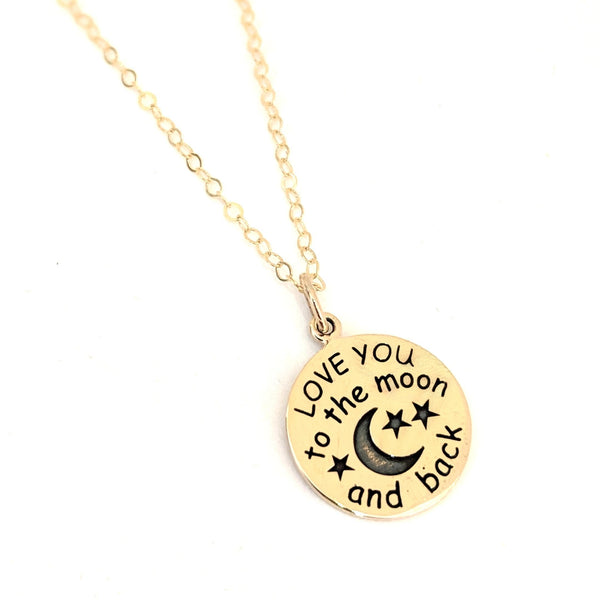 """Love You to the moon and back"" Necklace"