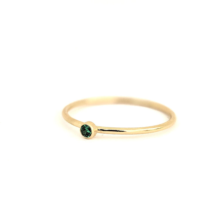 May Birthstone Gem Ring