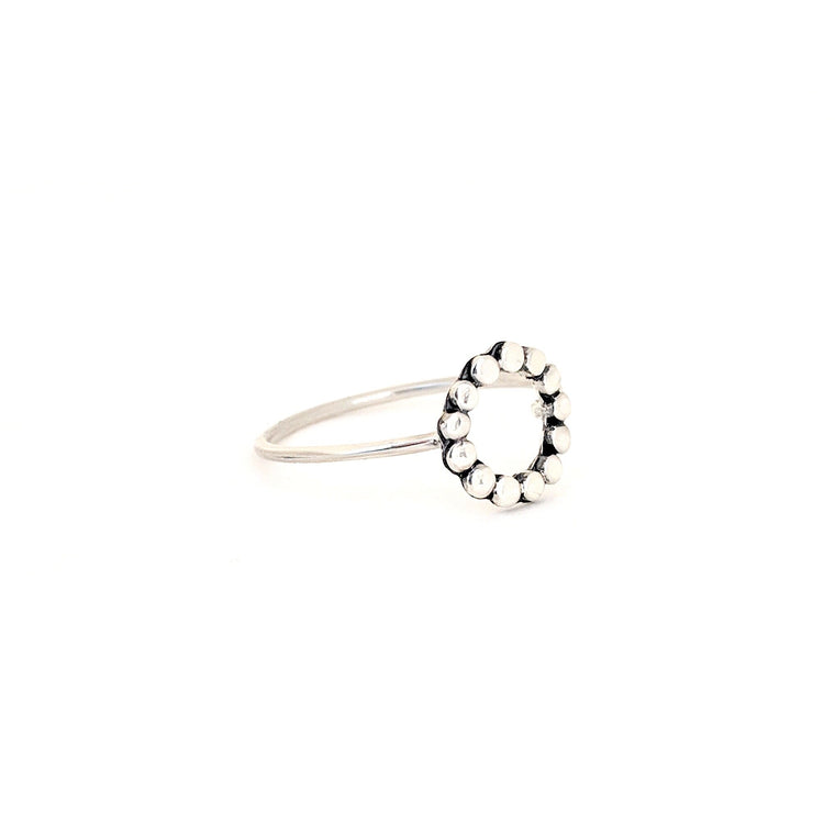 Dotted Circle Ring