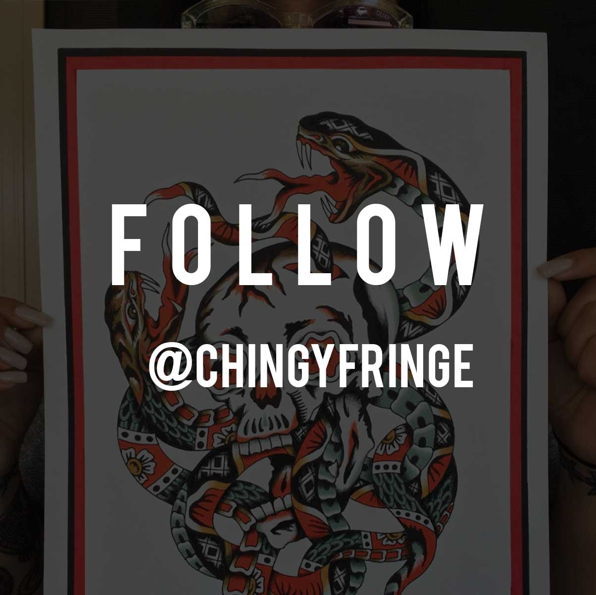 FOLLOW - CHINGY FRINGE