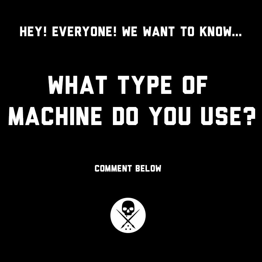 What type of tattoo machine do you use? The answer might surprise you:)
