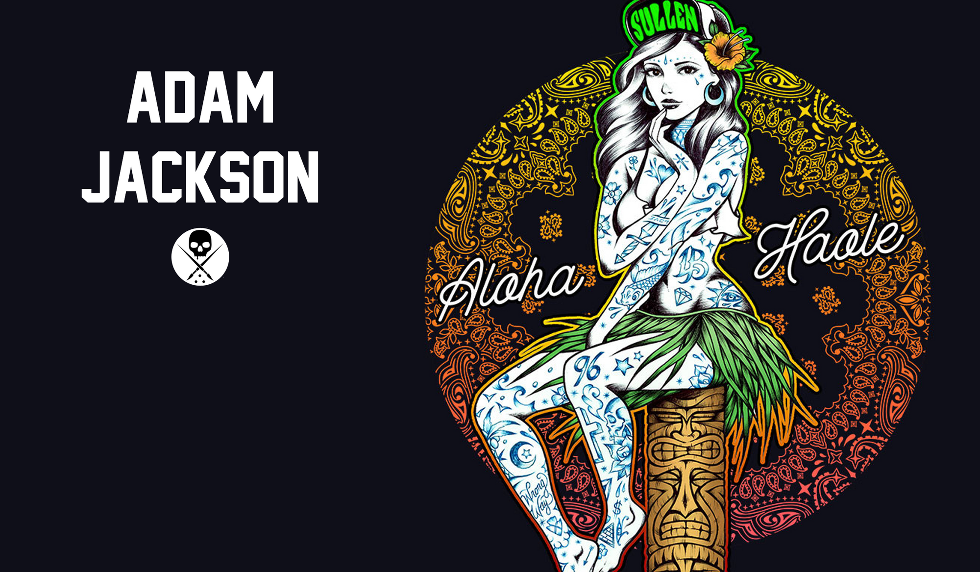 Adam Jackson - Tattoo Artist Shirt Series