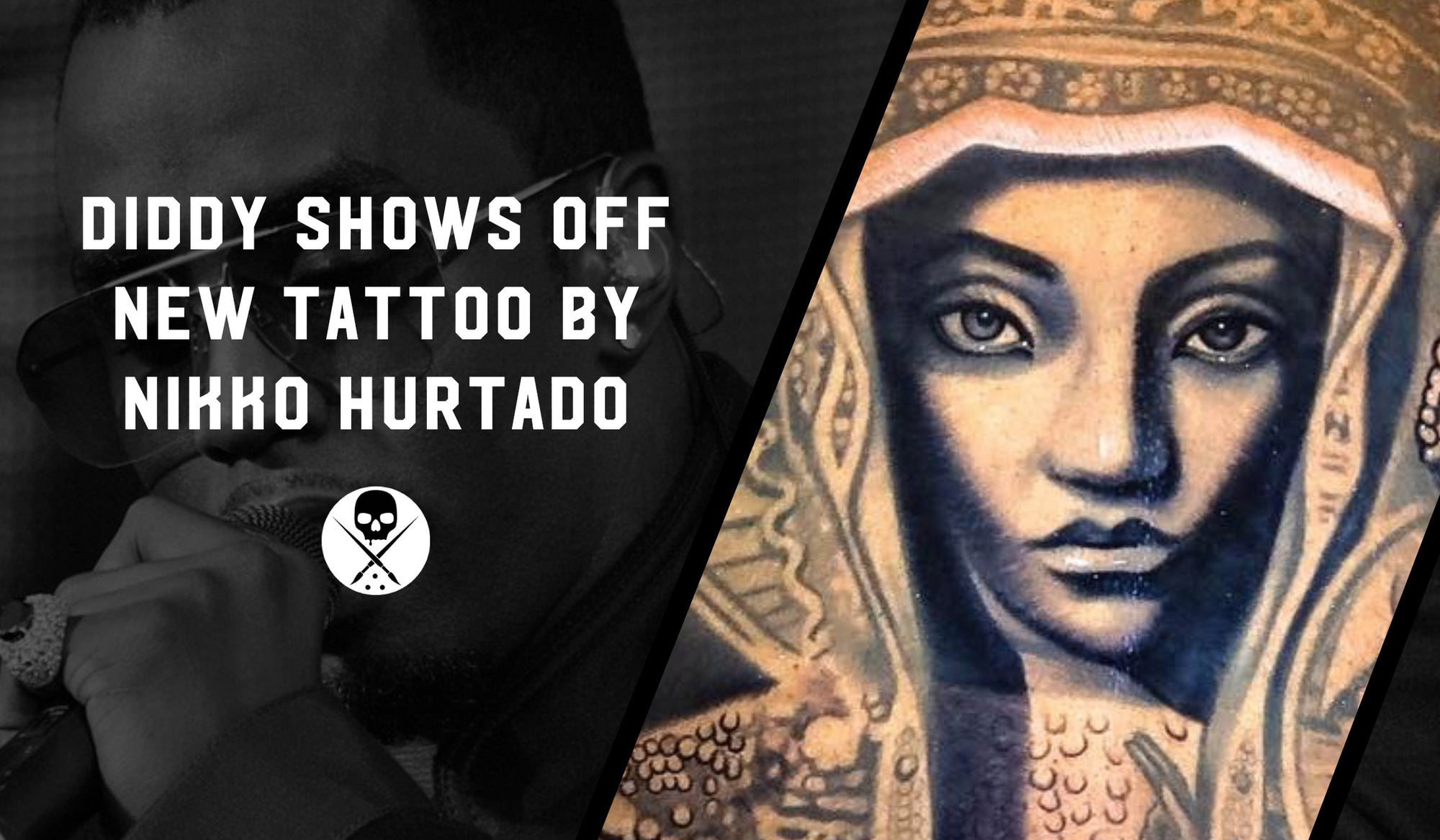 Diddy Shows Off New Tattoo By Nikko Hurtado