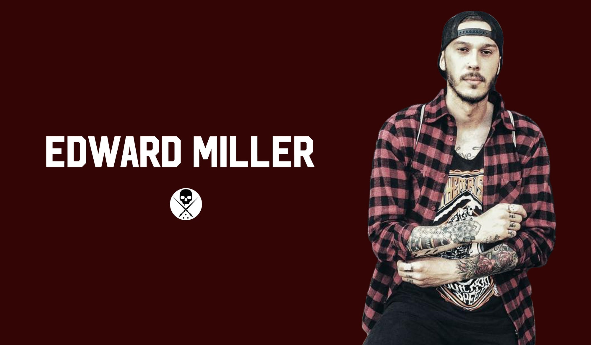Edward Miller - Tattoo Artist Shirt Series