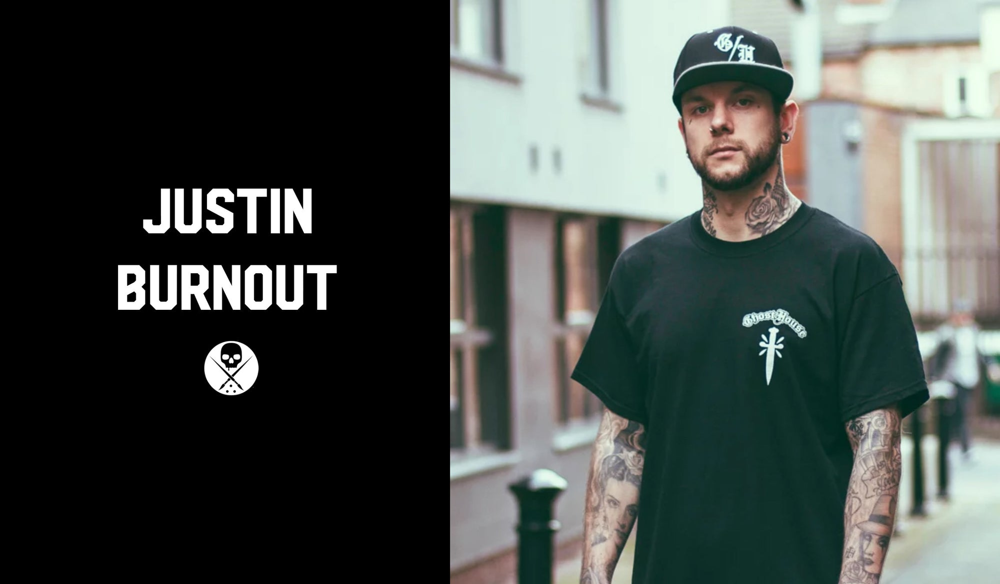 Justin Burnout - Tattoo Artist Shirt Series