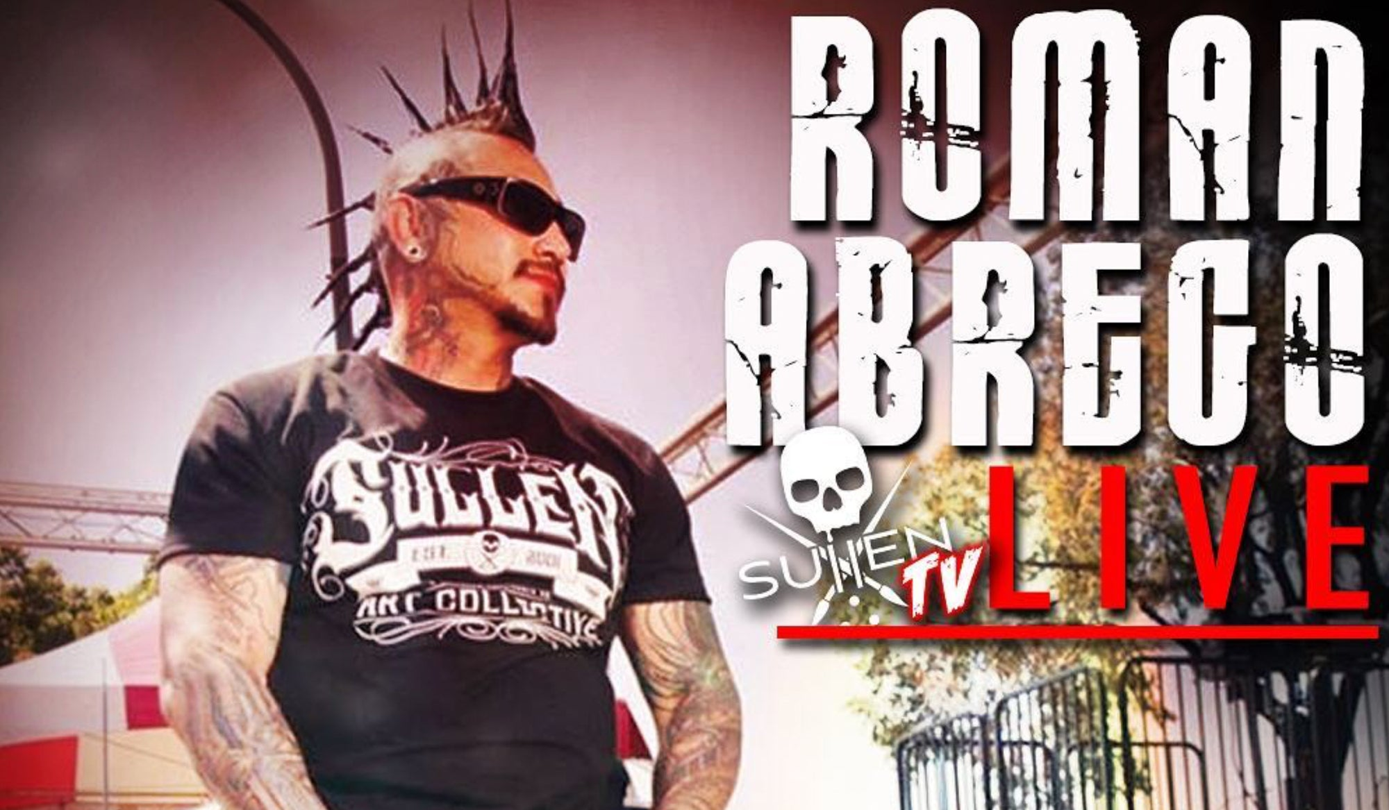 Live Tattoo | Roman Abrego - Sullen TV