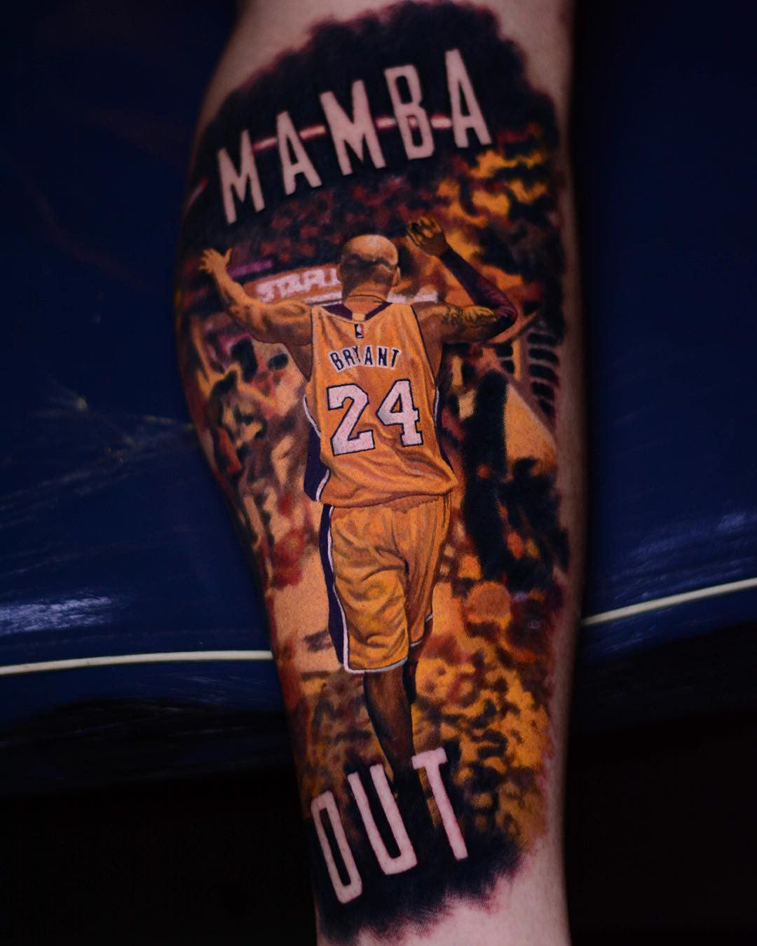 Gallery Of Photo Realistic Kobe Bryant Tattoos By Steve Butcher