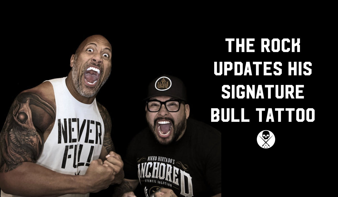 The Rock Covered Up His Bull Tattoo And Now Were Kinda Sad