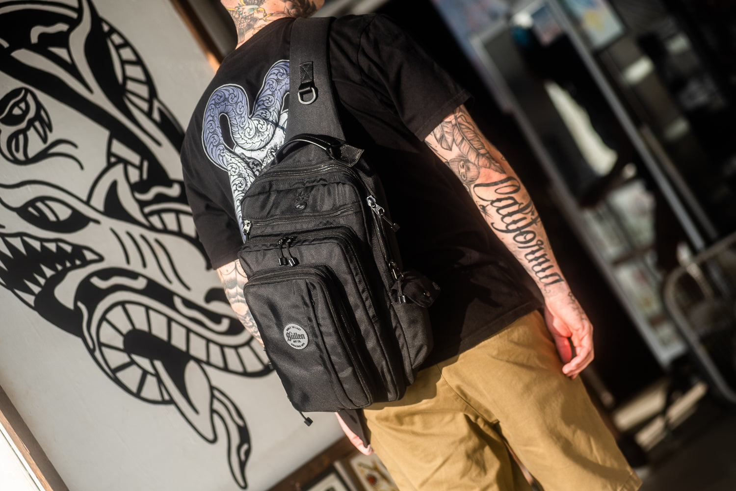 Blaq Paq - Tattoo travel bags