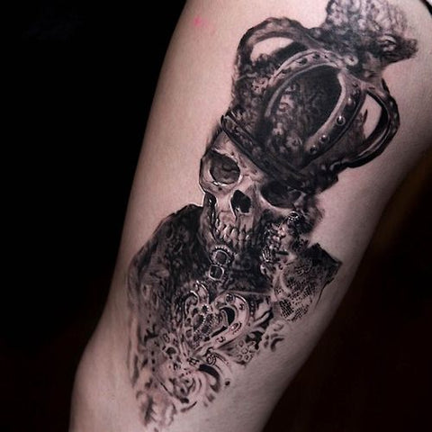 7c1b6ed3a 10 Amazing Black and Grey Tattoos from Niki Norberg - Sullen Art Co.