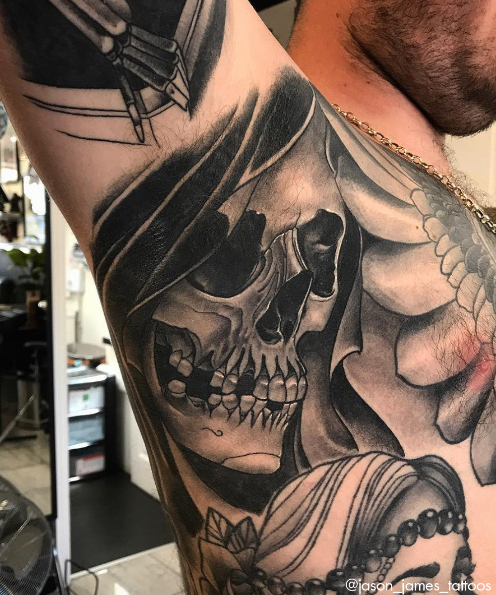 The Newest Trend Armpit Tattoos Sullen Art Co