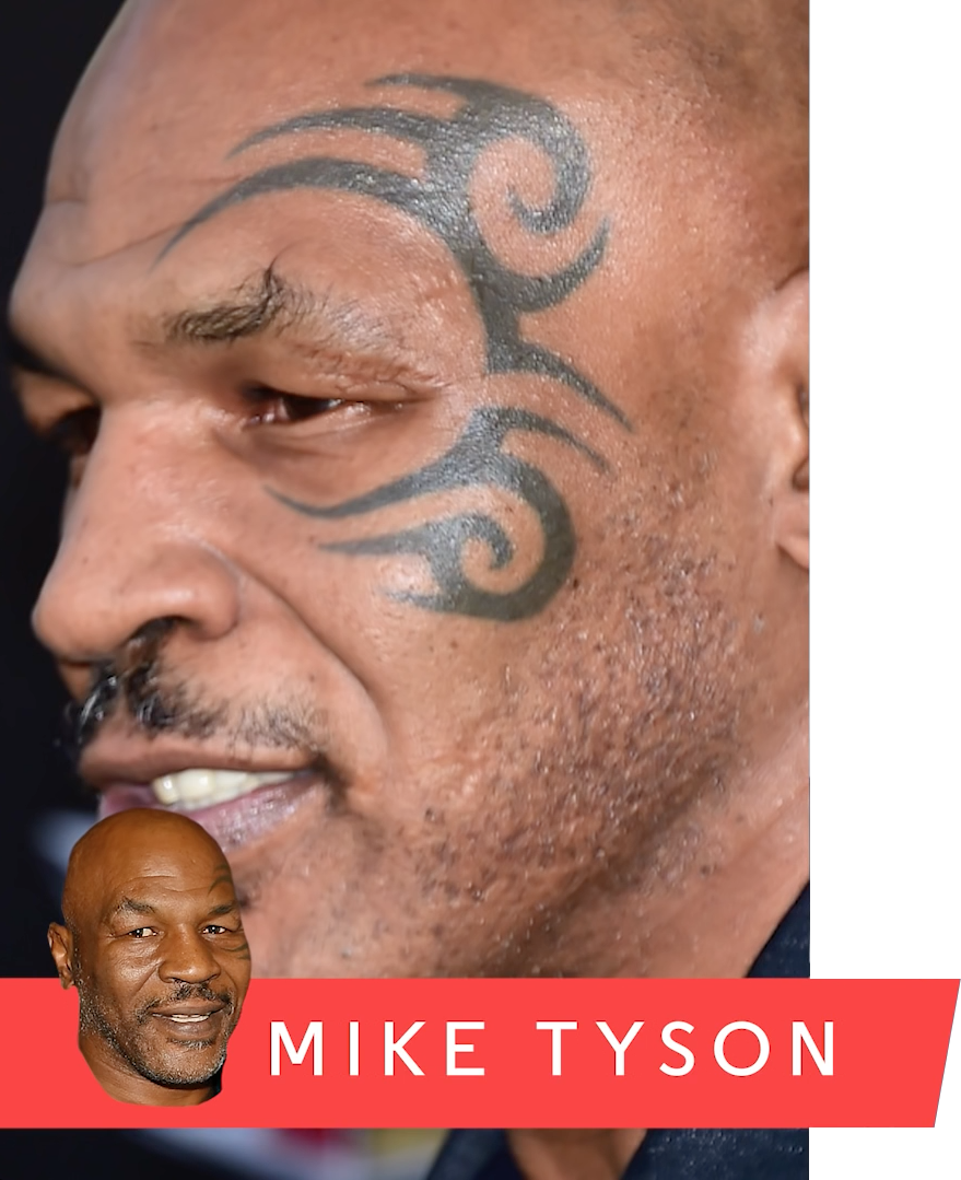 100 mike tyson tattoo meaning zoe saldana u0027s 5 tattoos u0026 their meanings body art. Black Bedroom Furniture Sets. Home Design Ideas
