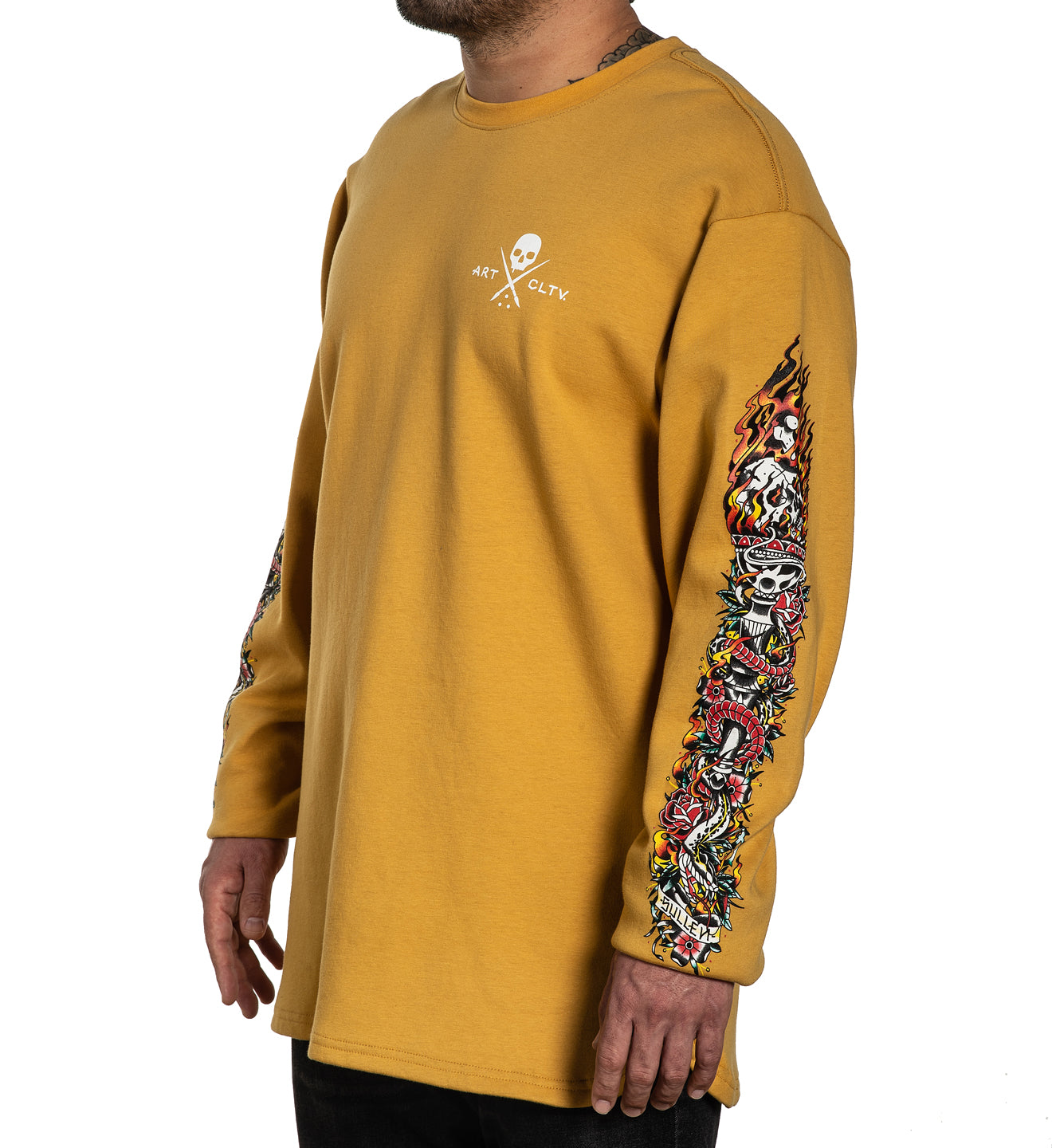 Torch Long Sleeve Crew