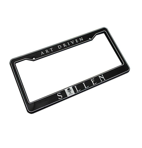 Art Driven License Plate Frame