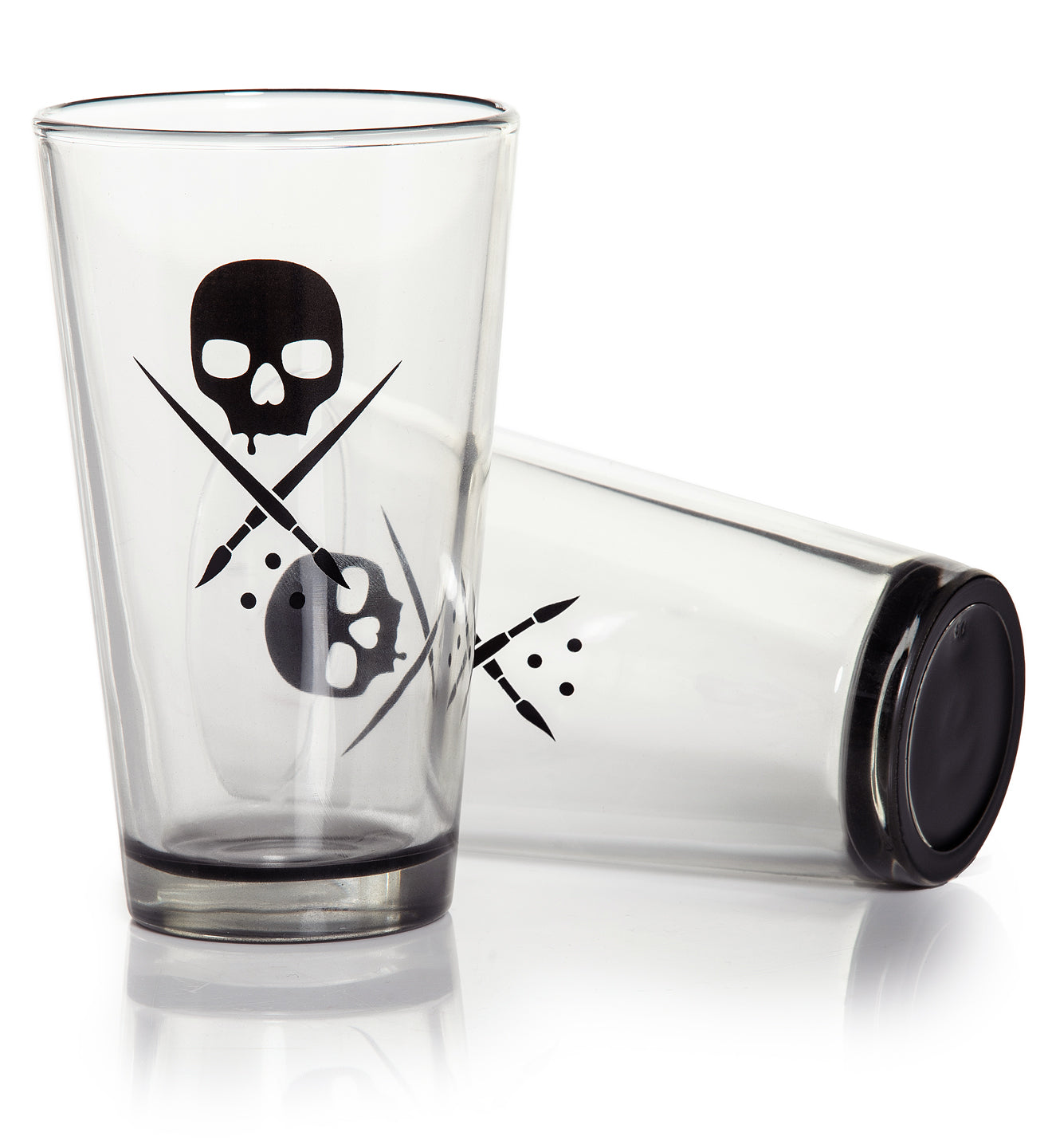 Blaq Pint Glass Set Of 2