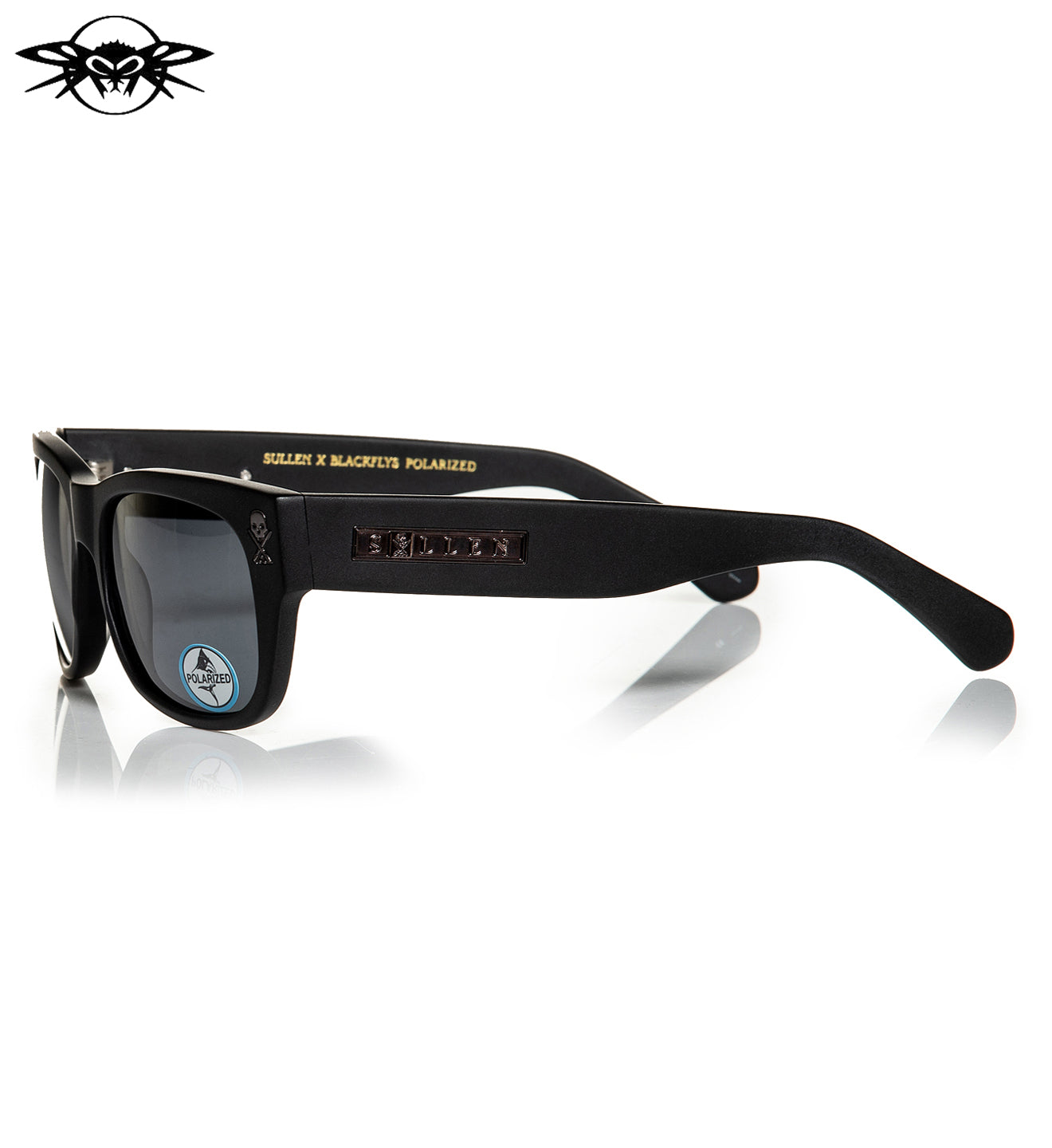 Next Chapter Black Chrome Polar Sunglasses