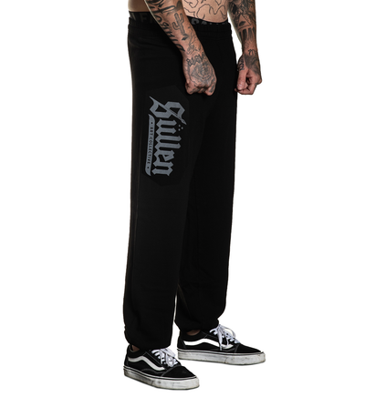 Lincoln Black Sweatpant