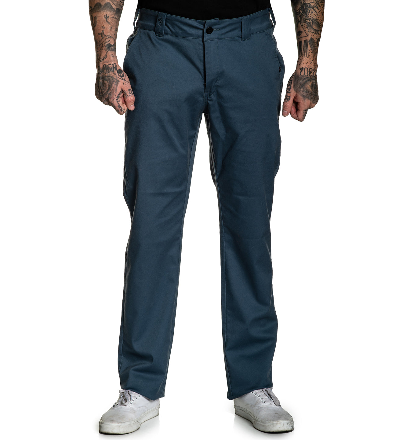 925 Relaxed fit Chino Stretch Pant Orion Blue