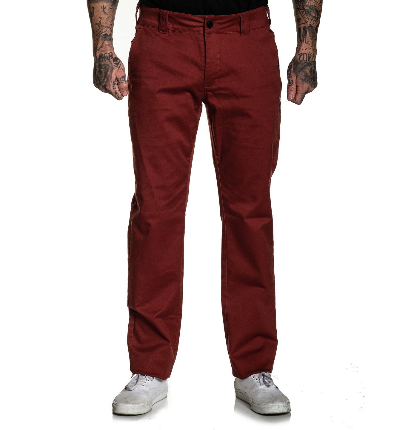 925 Relaxed fit Chino Stretch Pant Rosewood