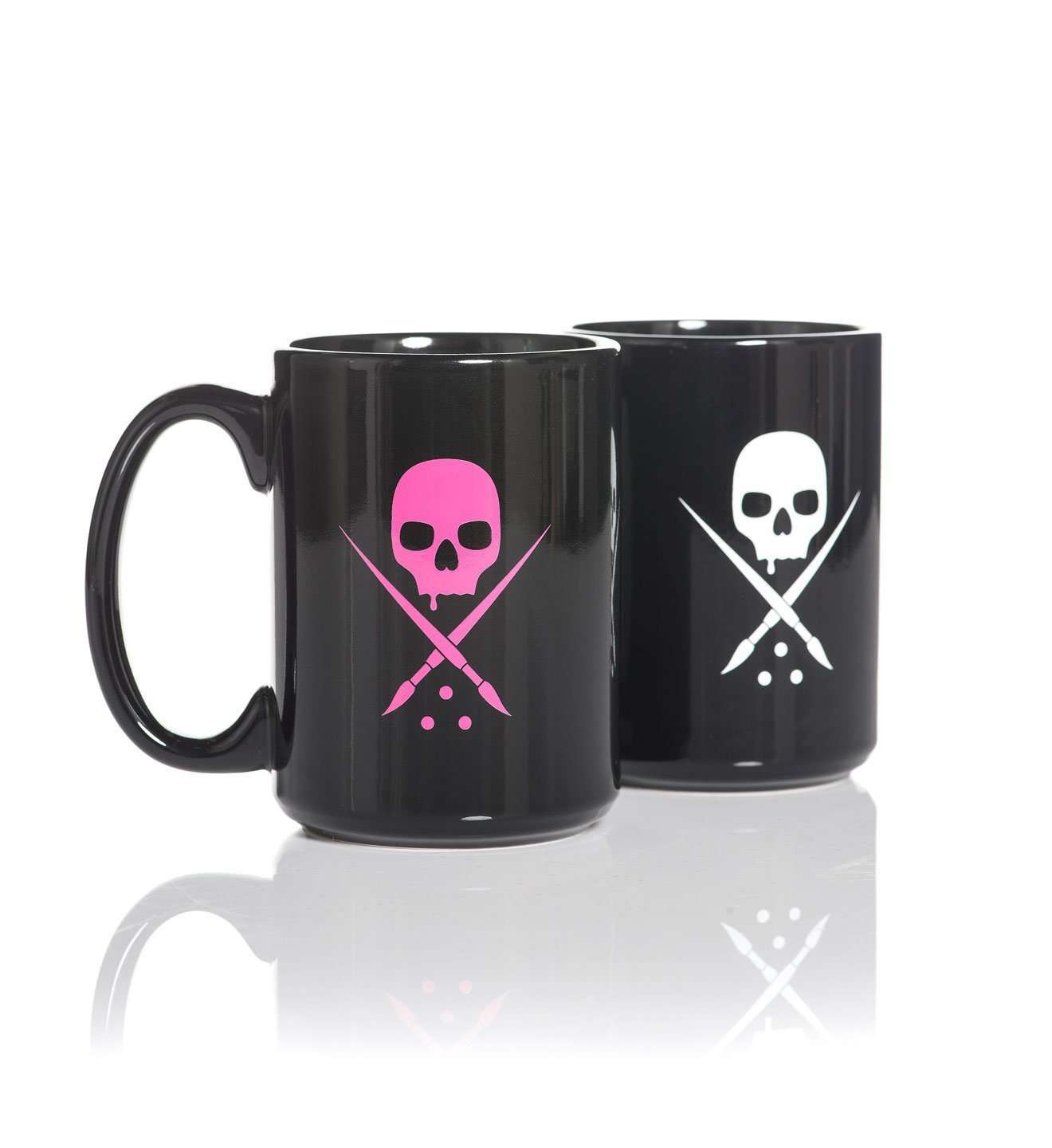 Badge Coffee 15oz Mugs - Sullen Art Co.