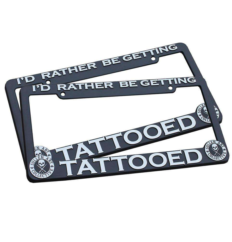 Rather License Plate Frame Combo - Sullen Clothing