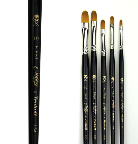 Trekell Filbert Brush Set