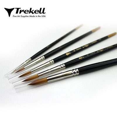 Trekell Round Brush Set
