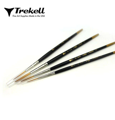 Trekell Script Brush Set
