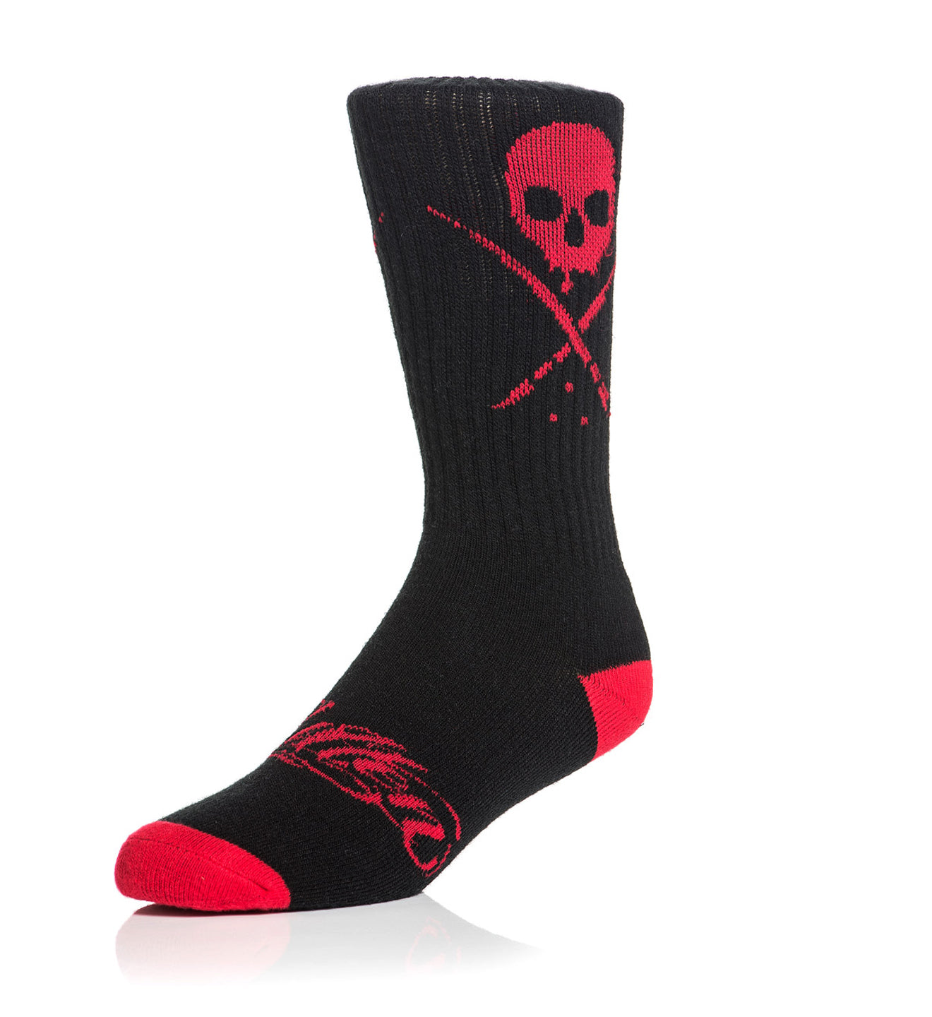 Standard Issue Socks Black/Red