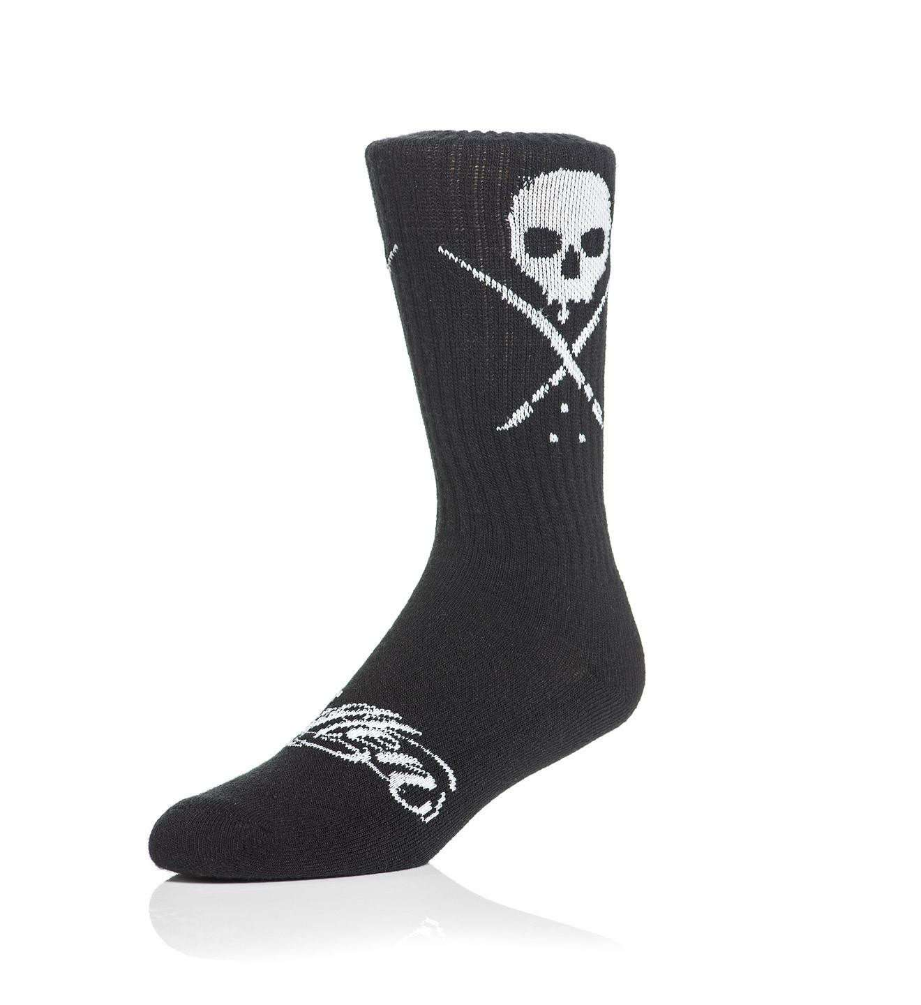 Standard Issue Socks Black/White