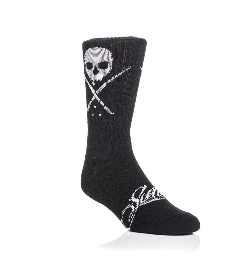 Standard Issue Socks Black/White - Sullen Art Co.